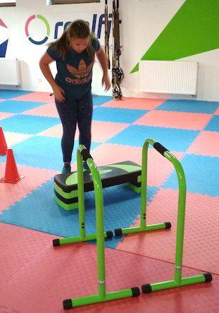 cvičenie detí