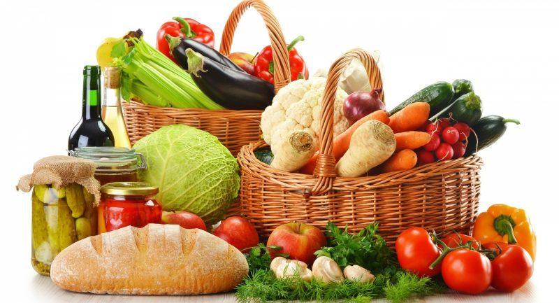 zdravá čerstvá zelenina
